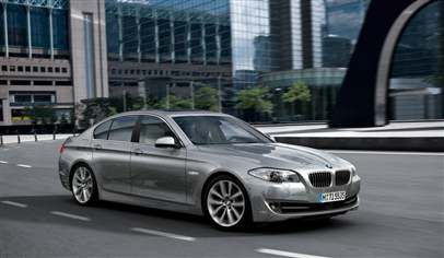 bmw 5 series 535d se 4dr car review march 2012. Black Bedroom Furniture Sets. Home Design Ideas