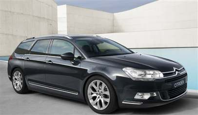 New Citroen C5 Tourer
