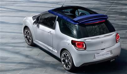 New Citroen DS3 Cabrio