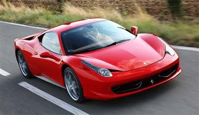New Ferrari 458