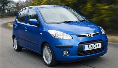 Hyundai I10 Pre Model 1 0 Blue 5dr Car Review February 2012