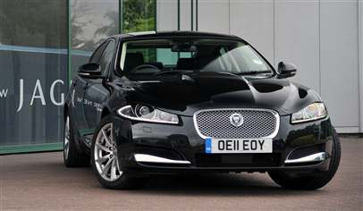 jaguar xf 3 0 v6 diesel luxury 4dr car review march 2012. Black Bedroom Furniture Sets. Home Design Ideas