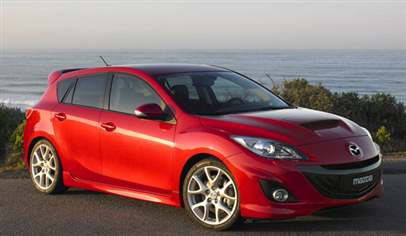 mazda mazda3 mps 2 3 turbo 5dr car review february 2012. Black Bedroom Furniture Sets. Home Design Ideas