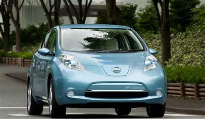 nissan leaf 5dr car review march 2012. Black Bedroom Furniture Sets. Home Design Ideas