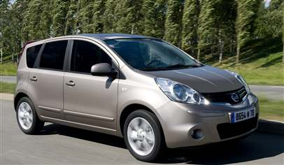 nissan note 1 5 dci visia 5dr car review february 2012. Black Bedroom Furniture Sets. Home Design Ideas