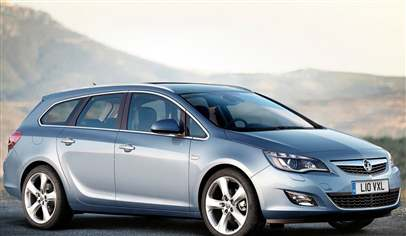 Vauxhall Astra Sports Tourer Exclusiv 1 7 Cdti 16v 125ps