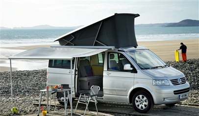 volkswagen california beach 2 0 tdi 4dr car review april 2012. Black Bedroom Furniture Sets. Home Design Ideas