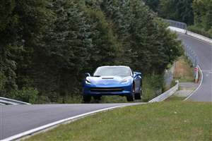 Corvette tested at the 'Ring