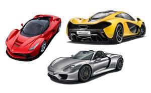 McLaren v Ferrari v Porsche