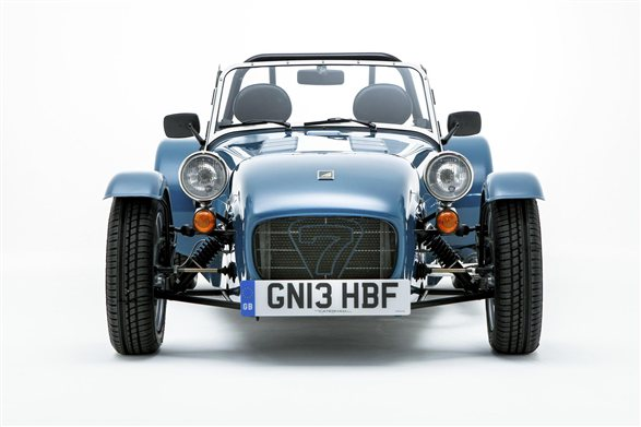 Caterham Seven 160 launched