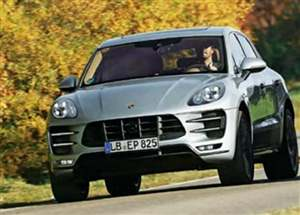 Porsche Macan SUV leaked