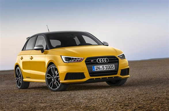 Audi reveals 228bhp S1
