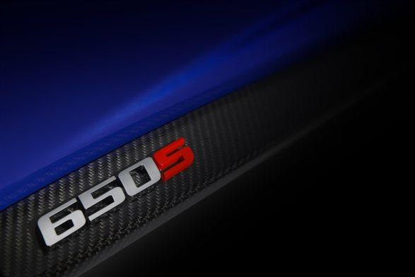 McLaren 650S supercar teased