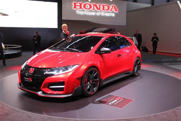 Honda Civic Type R Concept Revealed Geneva Car News Mar 2014