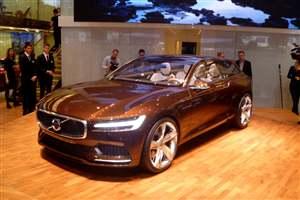 Volvo Concept Estate debuts