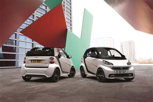 Smart ForTwo Grandstyle shown
