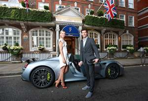 Sharapova & Webber in 918
