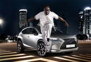 It's a rap for new Lexus