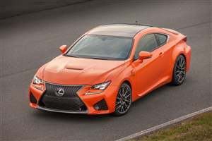 New Lexus RC F on sale