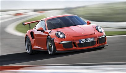 The new Porsche 911 GT3 RS unveiled