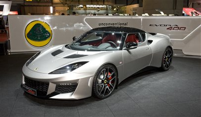 The new Lotus Evora 400
