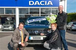 Dacia sales top 50,000