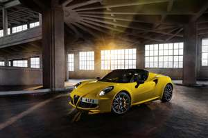 Alfa's exciting new 4C Spider
