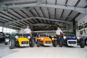 Two new Caterham dealerships