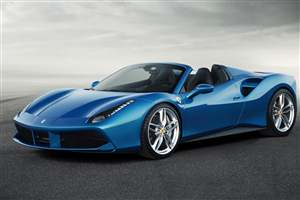 New Ferrari 488 Spider
