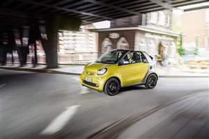 Smart fortwo cabrio on sale