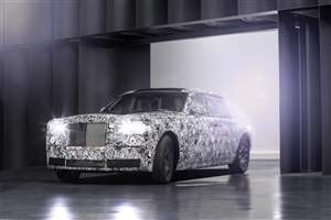 Rolls Royce space-frame tech