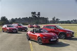 Record Mazda UK sales
