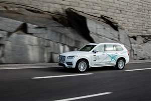 Driverless Volvo trial