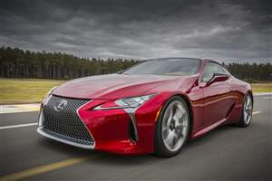 Goodwood bow for Lexus LC