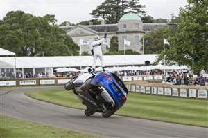 F-PACE at Goodwood