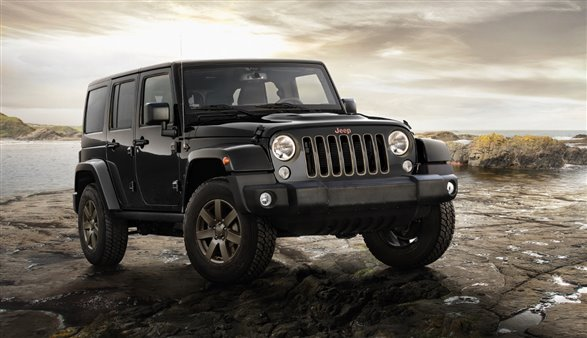 jeep celebrate in style with anniversary special wrangler new release car news jul 2016. Black Bedroom Furniture Sets. Home Design Ideas