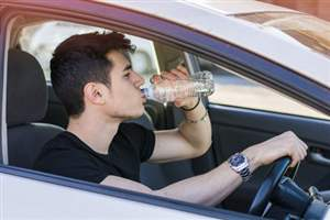 Keep cool when driving