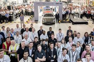 DB11 production starts