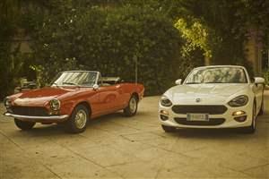 Fiat 124 Spider: 50 years