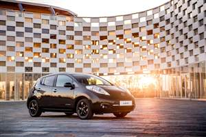 Nissan reveal special LEAF