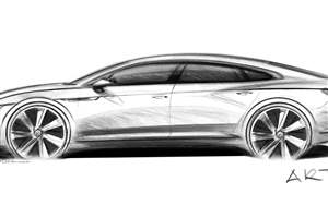 First glimpse of new VW Arteon