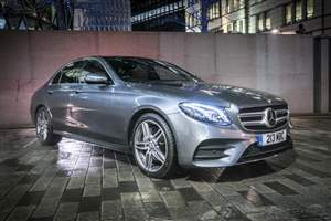 E-Class Merc lifts crown