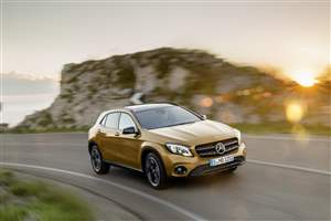Merc GLA orders open