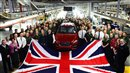 JLR flies flag for UK