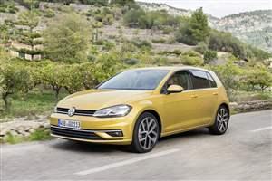 New VW Golf range on sale