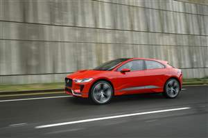 I-PACE takes to the streets