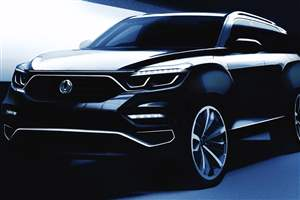Ssangyong Y400 reveal