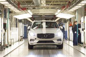 New XC60 enters production