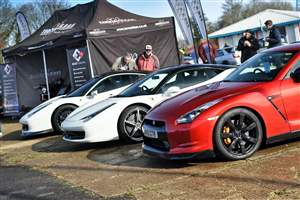 Supercars to Castle Combe