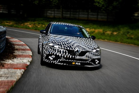 Renault Sport Mégane previewed ahead of Monaco GP reveal